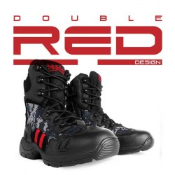 Buty Double Red Combat Digital Black DR3011 DR028
