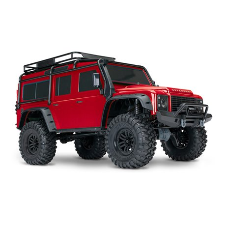 Traxxas TRX-4 Land Rover® Defender (1:10, 4WD, XL-5 HV) 82056-4 RED