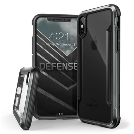 X-DORIA DEFENSE SHIELD IPHONE X/10 BLACK