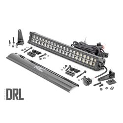 Listwa LED CREE 50 cm Czarny Panel DRL Biały - Rough Country