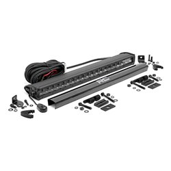 "Cree LED Light Bar 20"" Black Series Pojedyncza Rough Country"