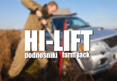 Podnośniki Hi-lift farm jack hilift